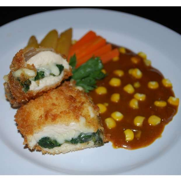 Thumbnail Spinach Chicken Cordon Bleu